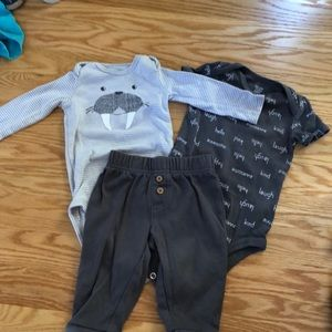 Carters matching set outfit